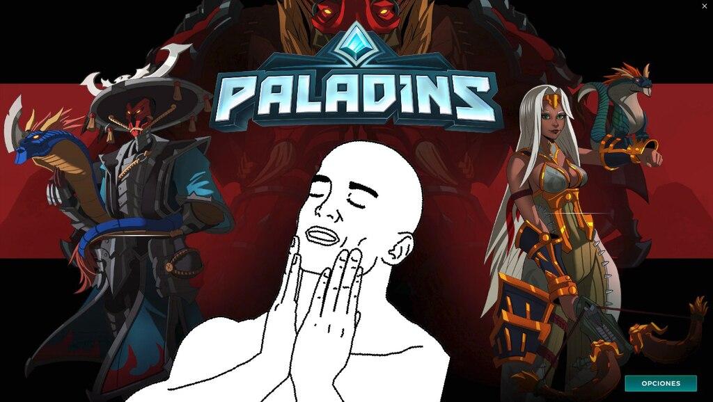 paladins pts down