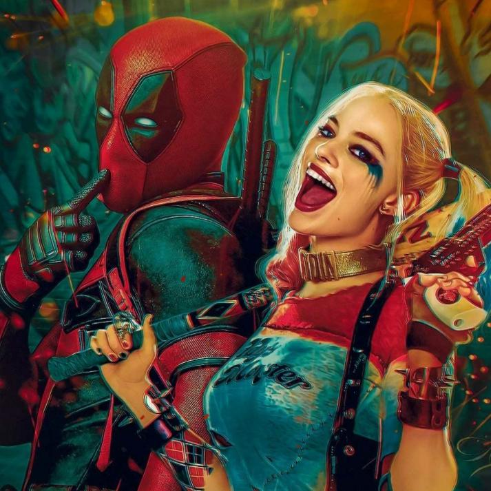 Steam Workshop Harley Quinn Ve Deadpoll Wallpaper
