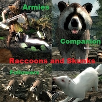 Raccoons and Skunks Companions and Armies 1.0画像