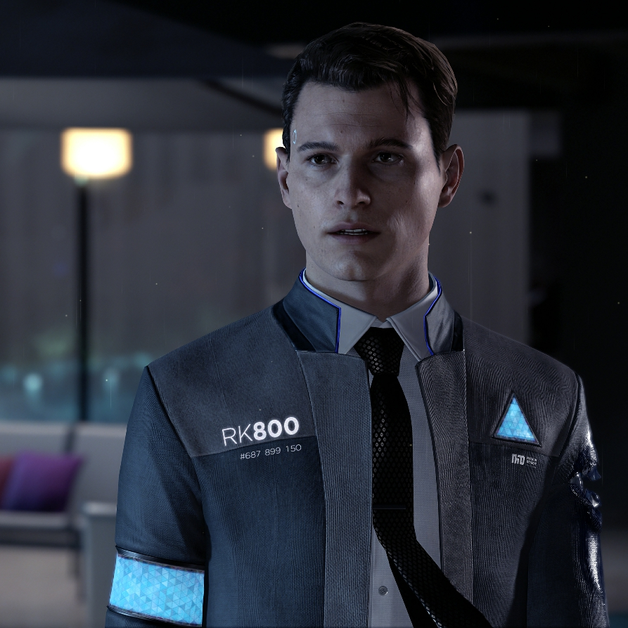 Connor - Detroit Become Human 4K