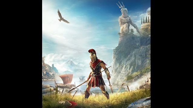 assassins creed odyssey wallpaper logo