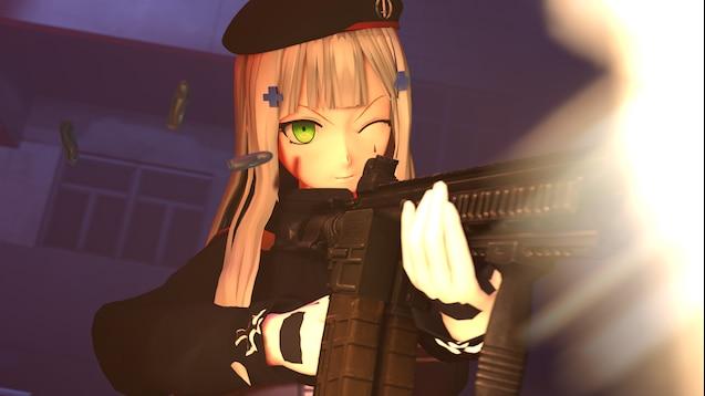 Steam Workshop :: HK416 (Girls' Frontline)