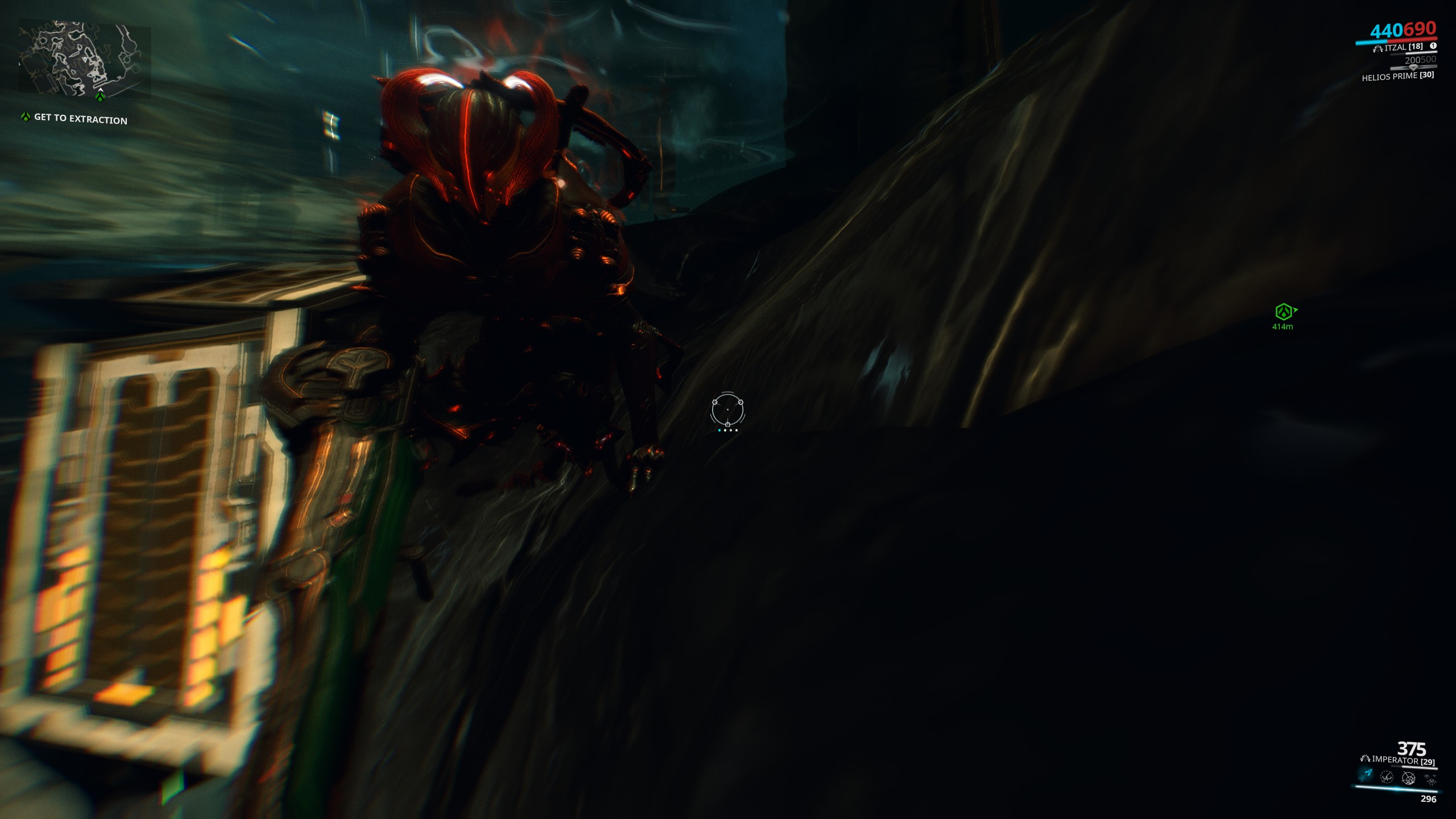 Archwing subersibl:Neptune:Sycorax - Stuck in a loop exiting