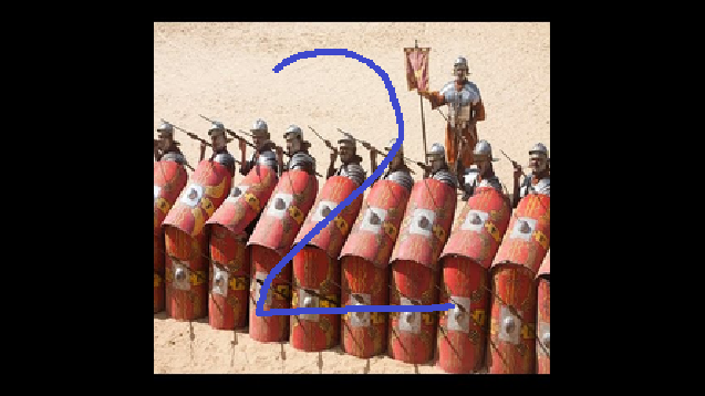 3fe582d13acb Shield Wall and Testudo for all regular Roman units Including Auxilary units