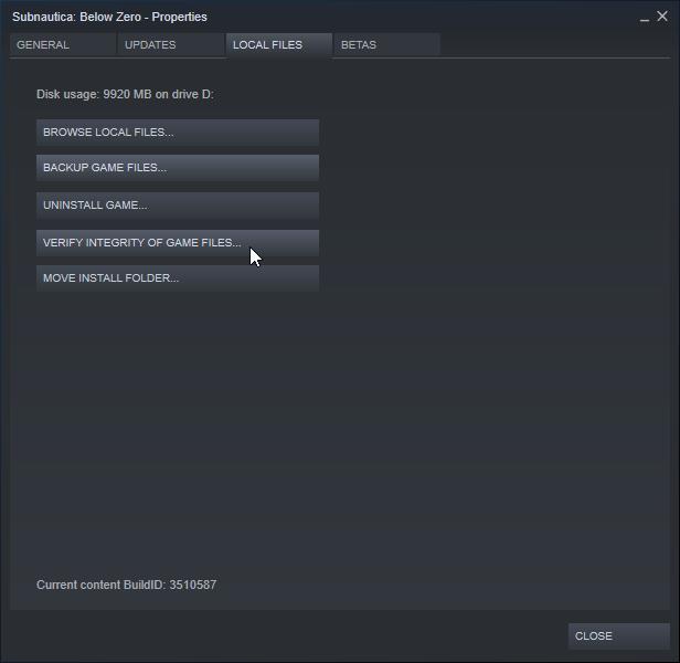 Steam Community :: Guide :: Subnautica: Below Zero Troubleshooting