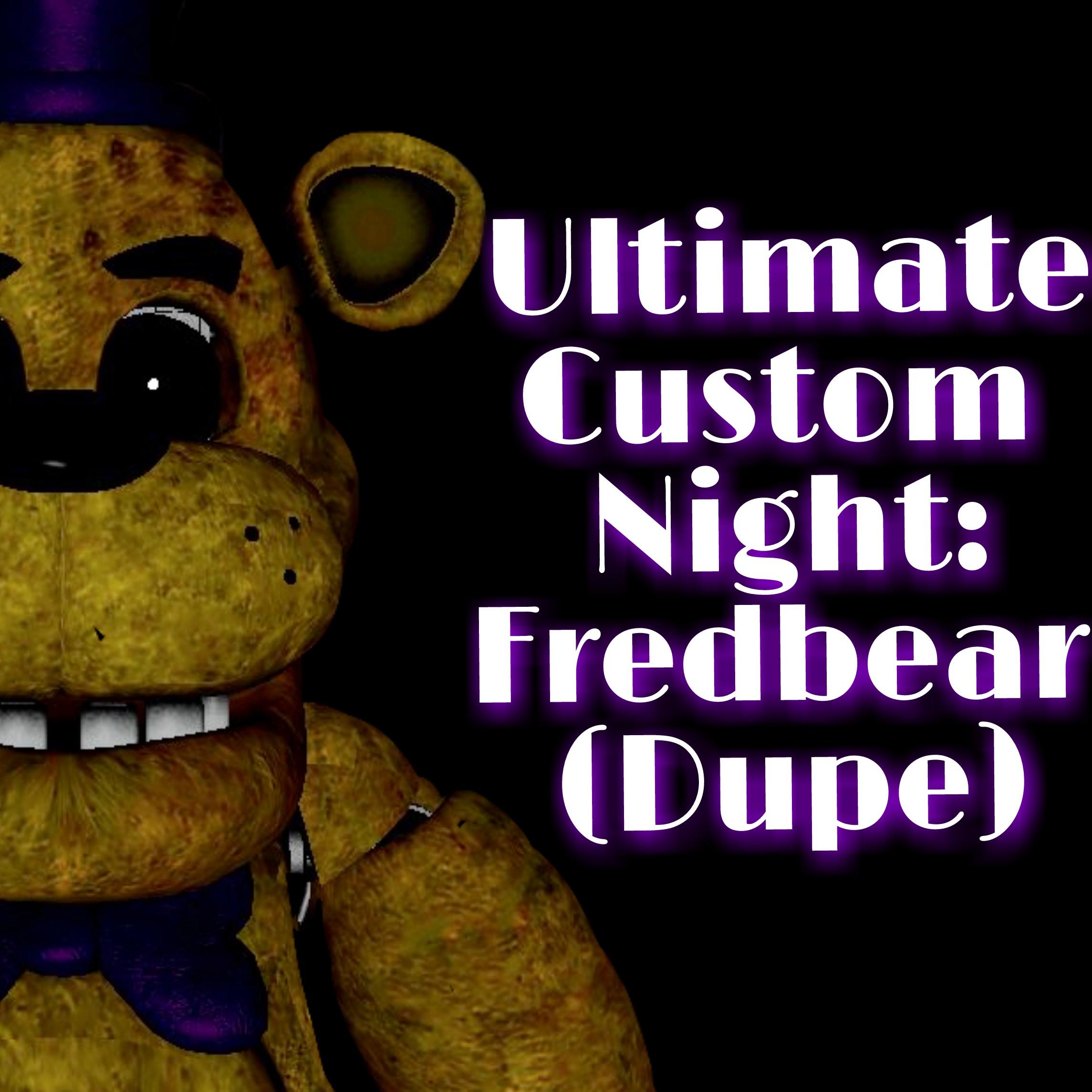 Steam Workshop :: Ultimate Custom Night: Fredbear