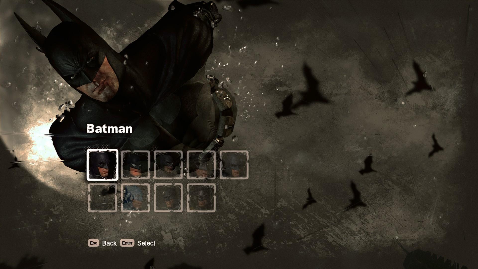 batman arkham knight unlock all skins cheat