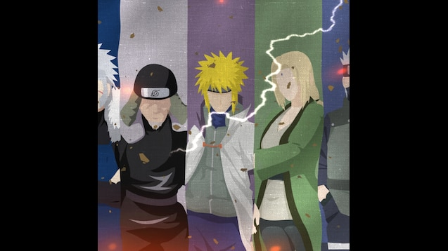 Steam Workshop Naruto All Hokage Wallpaper