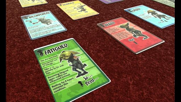 Steam Workshop :: Pathfinder Condition Cards