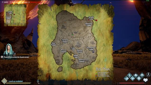 Dark light map