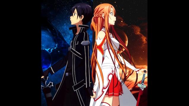 Steam Workshop::Sword art online - Kirito and Asuna ...