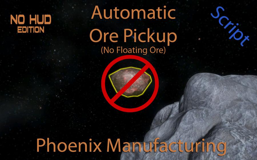 Automatic Ore Pickup NoHUD