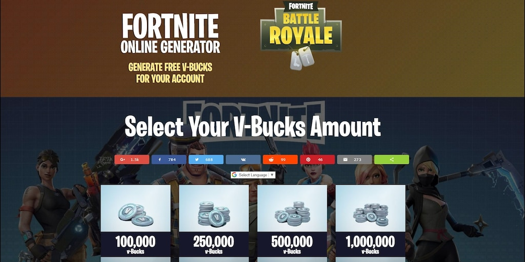 Fortnite Free V Bucks Generator No Human Verification Xbox