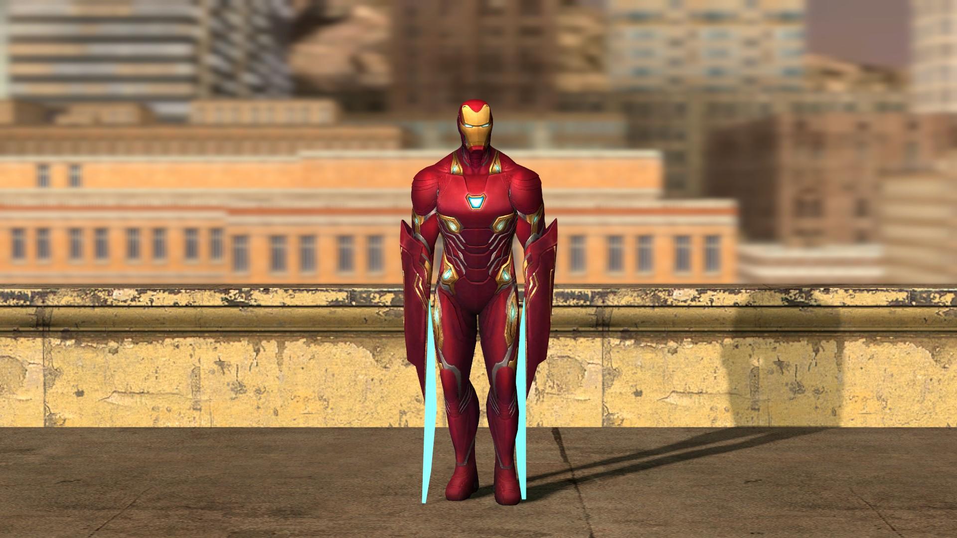 Steam Workshop Ironman Mark 50 Avengers Infinity War Playermodel