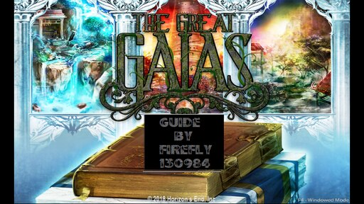 Steam Community :: Guide :: The Great Gaias - Guide