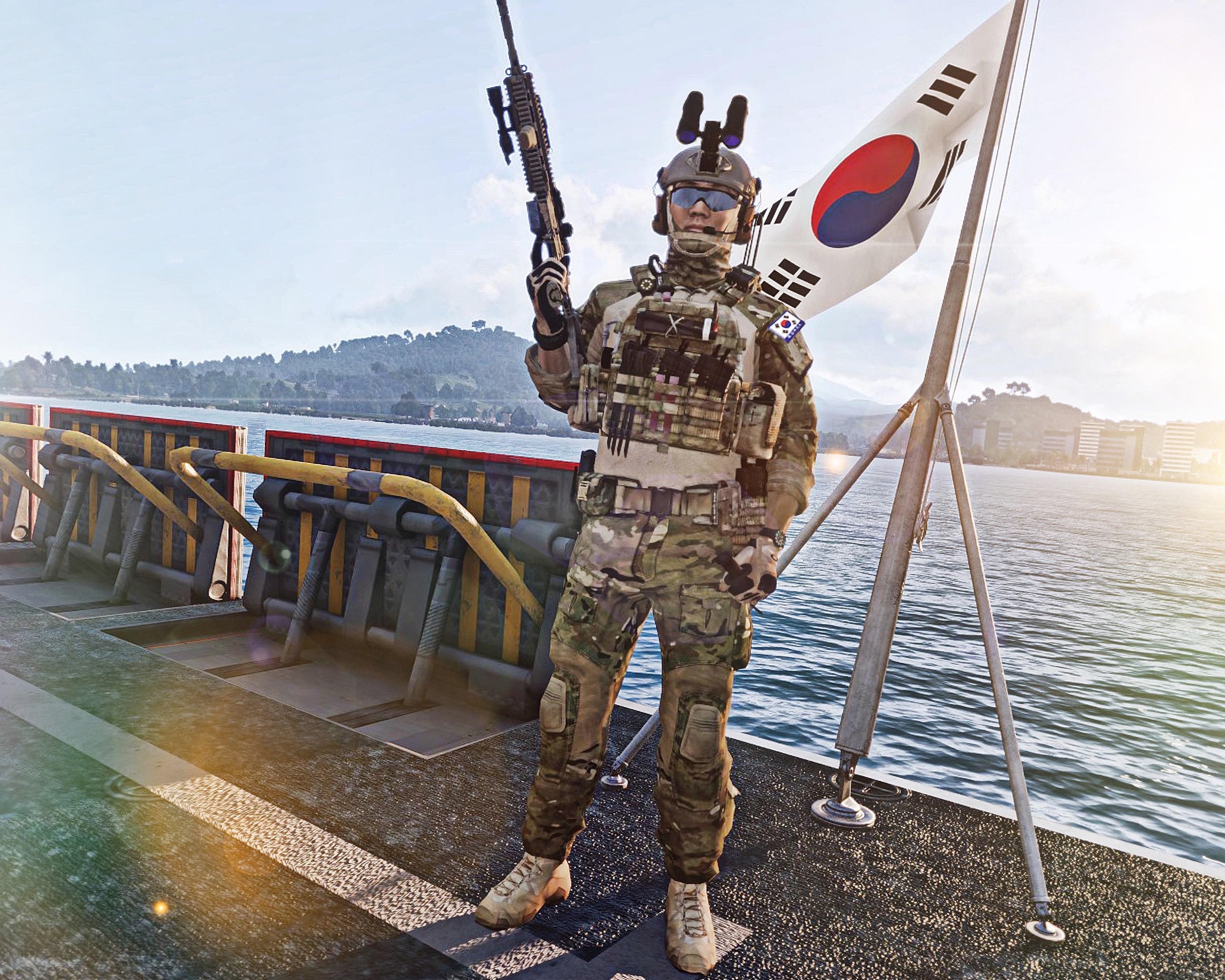 REPUBLIC OF KOREA (ROK) NAVY SPECIAL WARFARE FLOTILLA (UDT/SEALS)