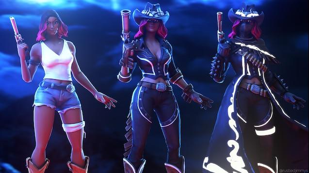 Steam Workshop :: Fortnite - Calamity (All level skin stages) + 4