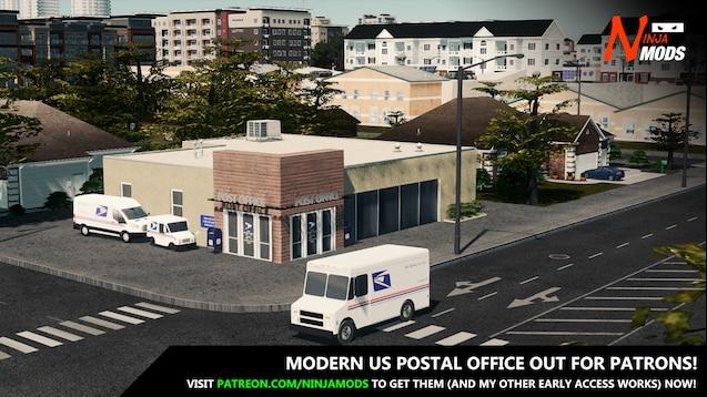 Steam Workshop :: [MAIL] USPS 2017 Ford Transit