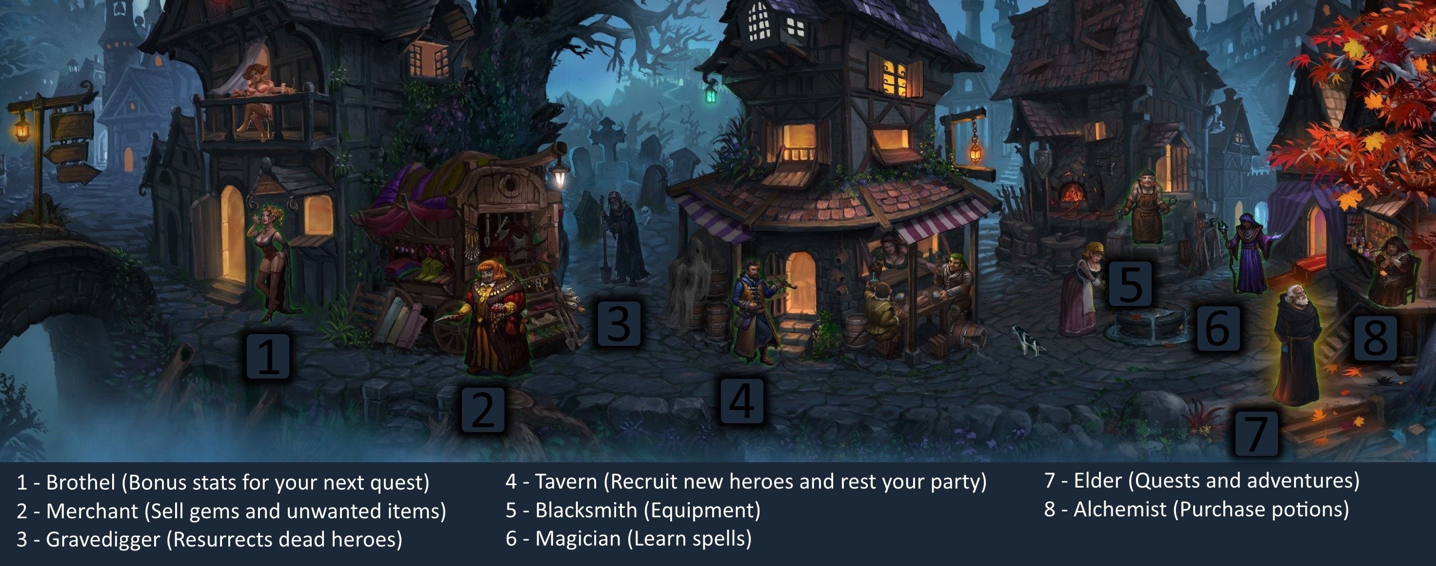 Steam Community :: Guide :: Dark Quest 2 - gameplay basics and