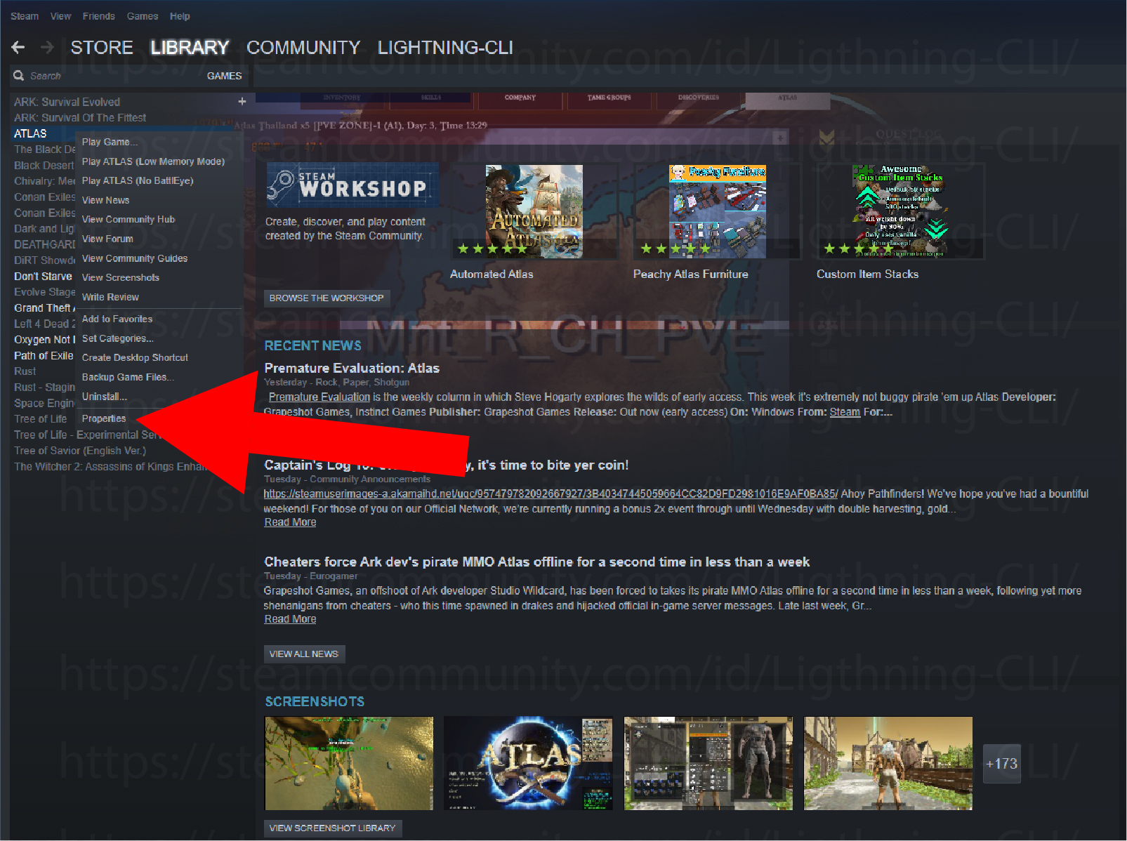 Steam Community :: Guide :: How to install Global Font in Atlas