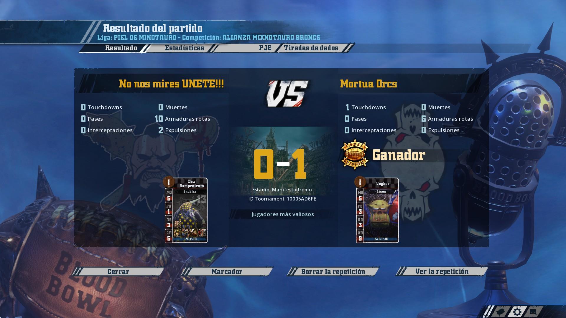 Liga Alianza Mixnotauro 1 - División CUERNO DE BRONCE / Jornada 3  - hasta el domingo 10 de marzo F127AE069790CF7E81FD62605E1910B1B7D247EA