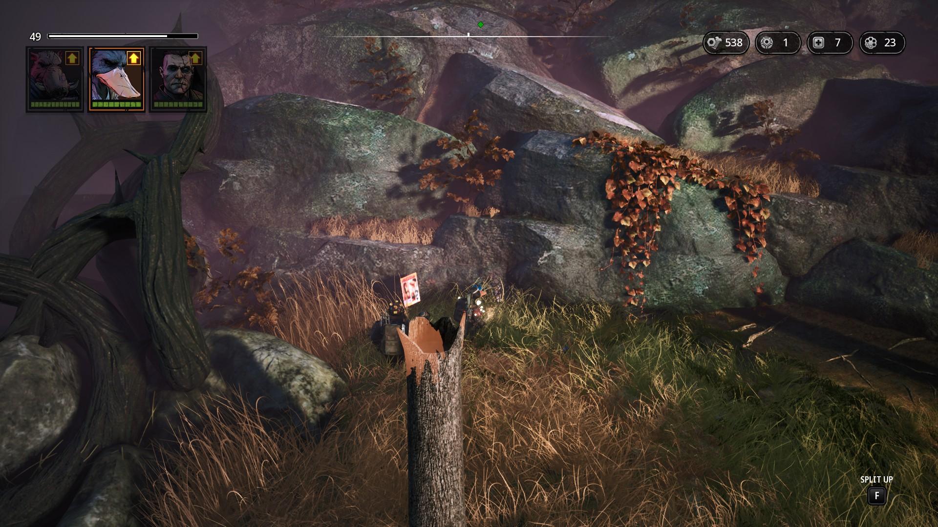 Скрытые Bushmags в Mutant Year Zero: Road to Eden