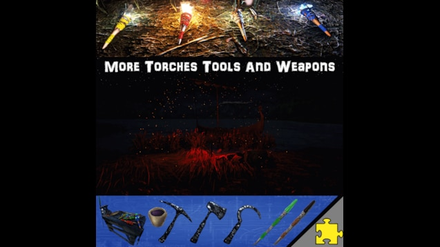 Steam Workshop :: More Torches Tools and Weapons