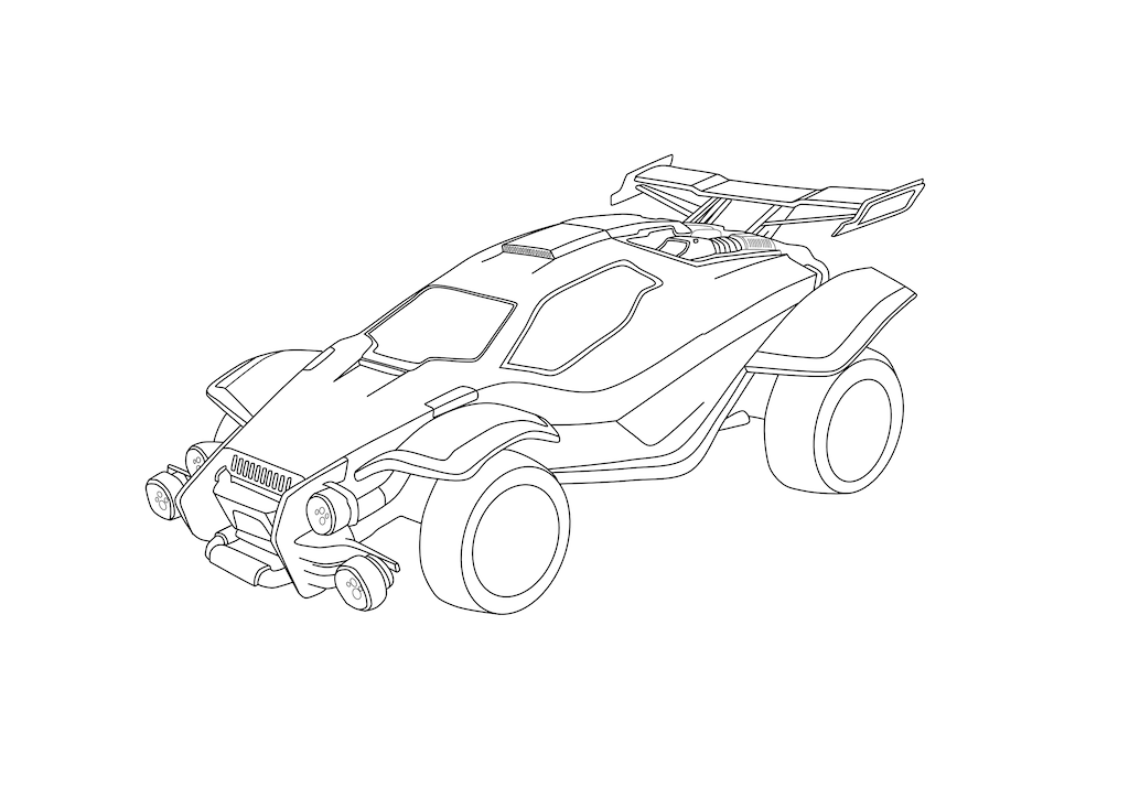 Learn How To Draw How To Draw Rocket League Octane All the rocket league cars are split into 5 hitbox presets: how to draw rocket league octane
