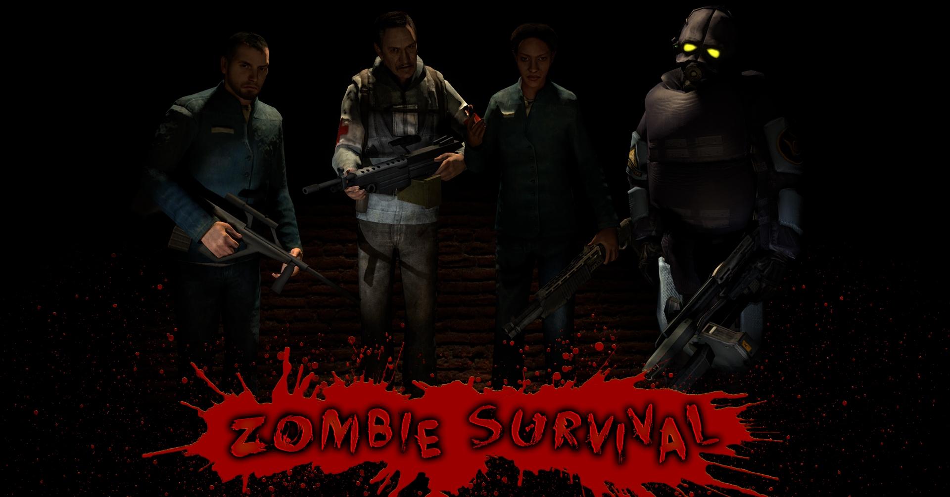 Steam Workshop :: Zombie Survival Maps on gmod zombies vs humans, gmod sniper, gmod godzilla survival, gmod dino survival, gmod nazi zombies,