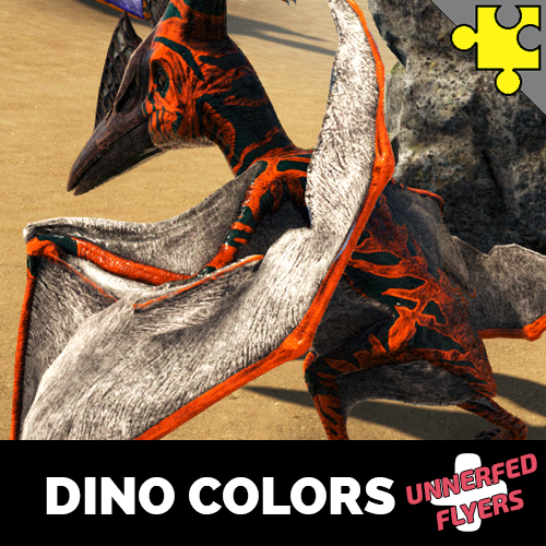 Dino Colors Plus - Unnerfed Flyers Edition