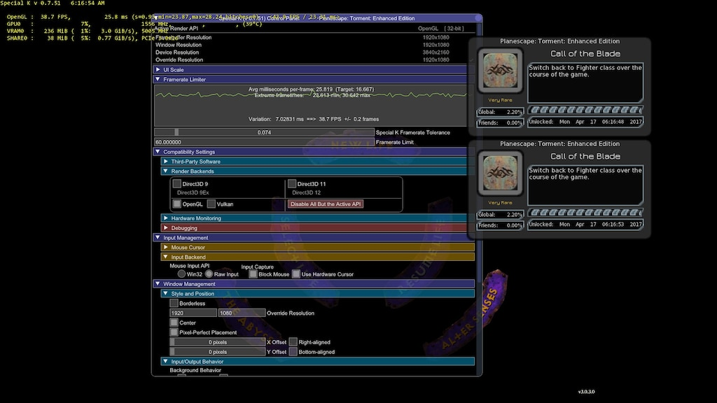 Opengl screenshot