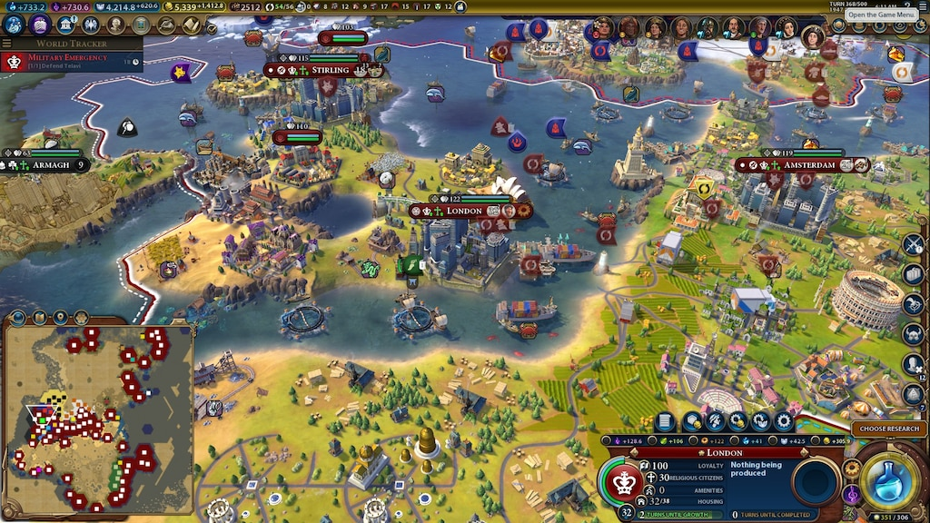 Civ 4 Earth Map.Steam Community Screenshot England Tsl The Ancient World Un