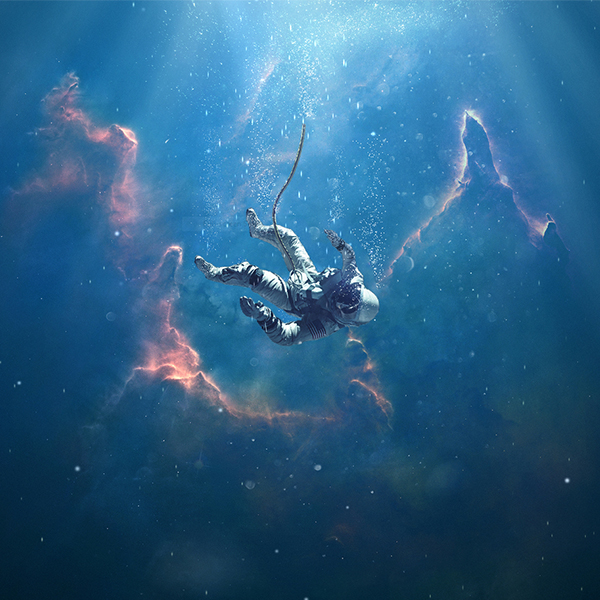 Drowning in Space