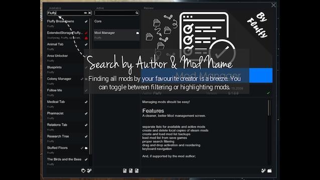 Steam Workshop :: Mod Manager