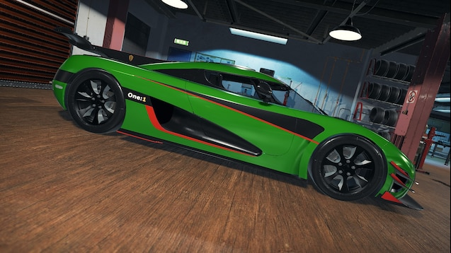 Koenigsegg One 1 >> Steam Workshop Koenigsegg One 1