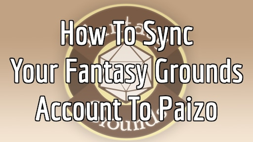 Steam Community :: Guide :: How To Sync Your Fantasy Grounds Account