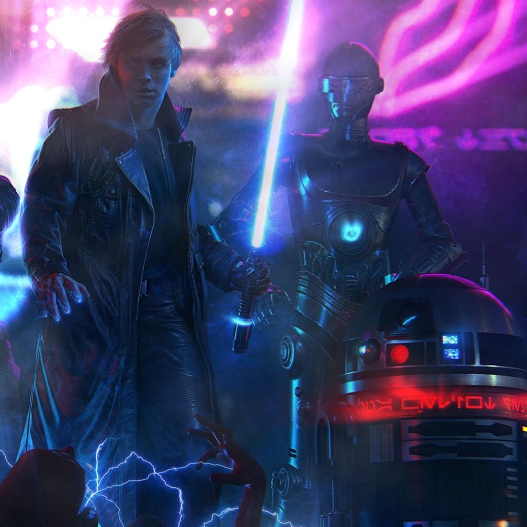 Steam Workshop Star Wars Cyberpunk Luke Skywalker