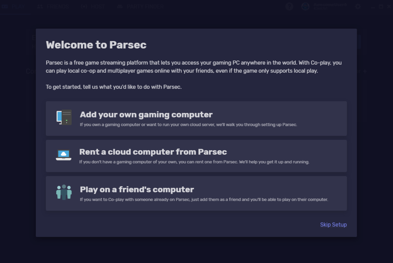 Steam Community :: Guide :: Parsec Setup Guide