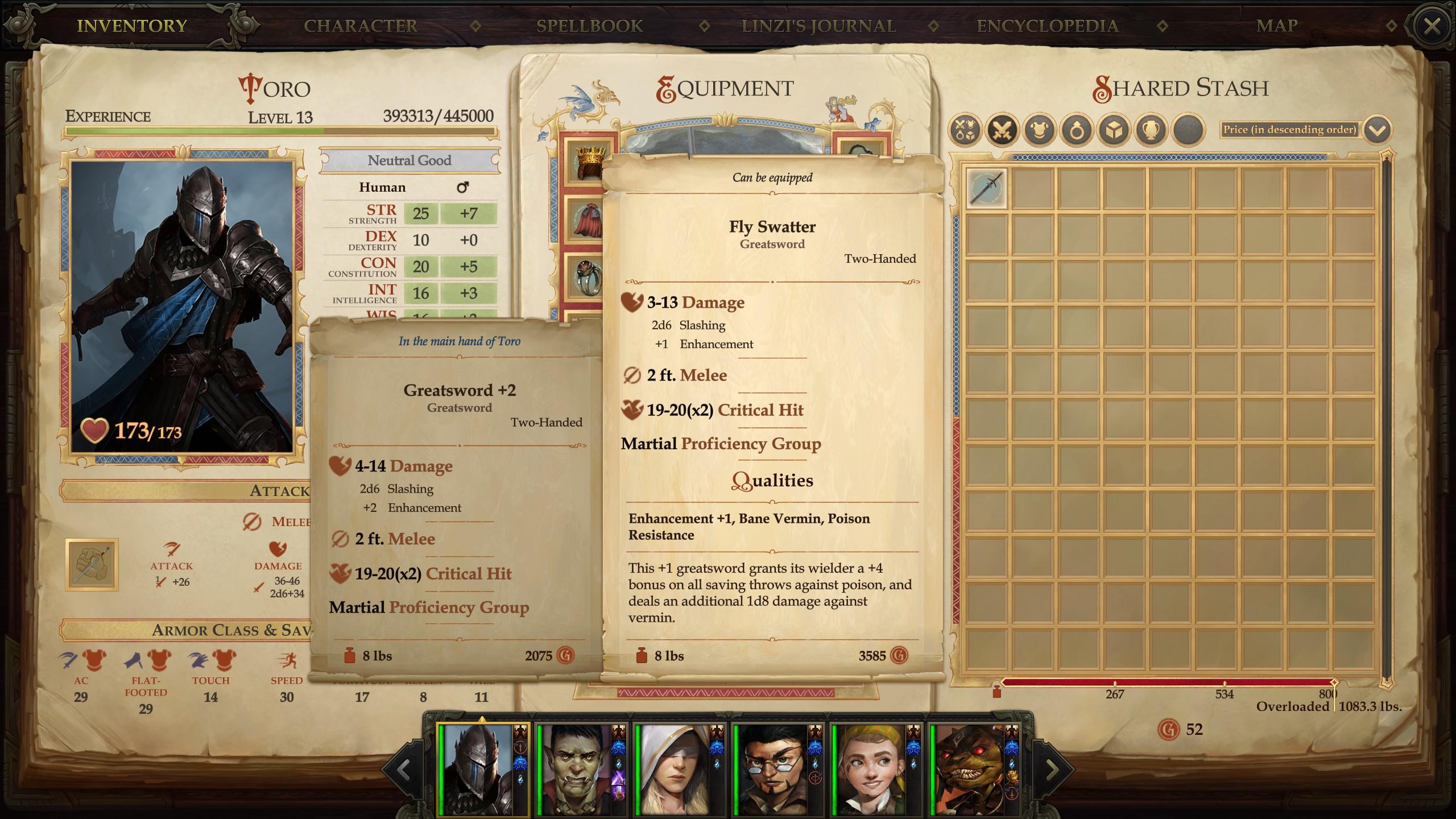 KickStarter - Pathfinder: Kingmaker Pre-DLC Thread [GO TO NEW THREAD