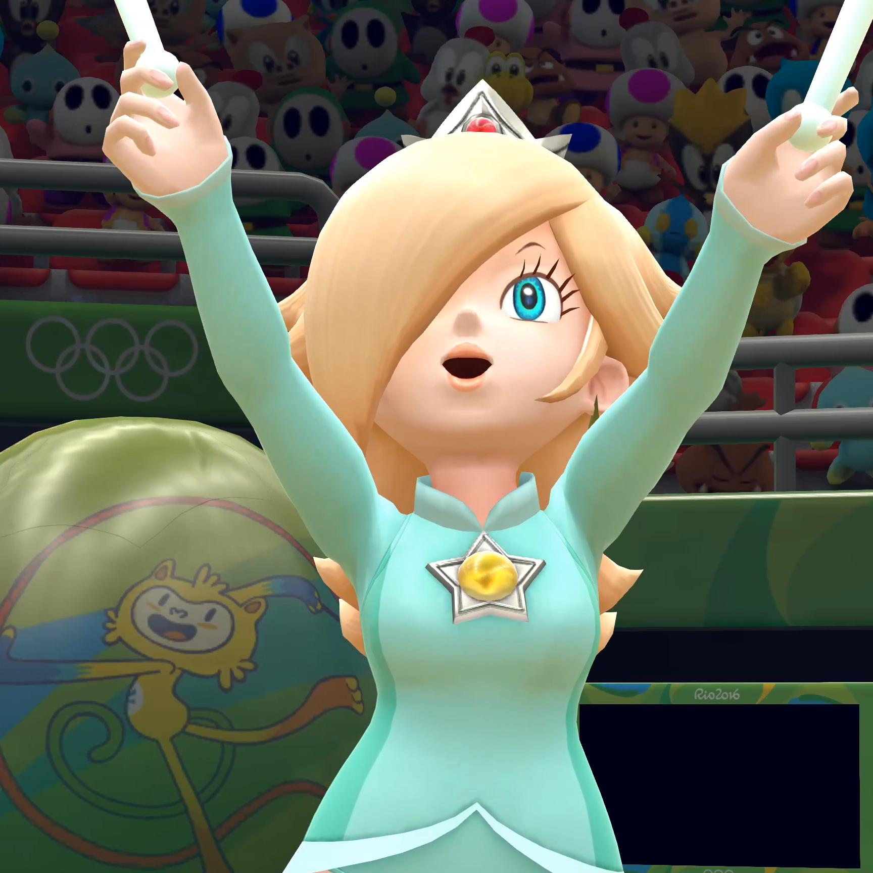 Steam Workshop Mario Sonic At The Rio 2016 Olympic Games Rosalina Gymnastic Routine 4k No Hud Super Bell Hill