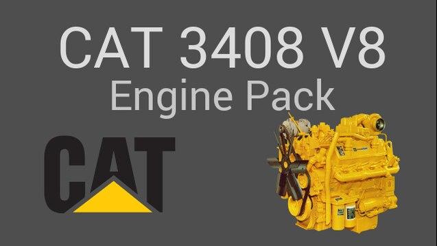 Steam Workshop :: Caterpillar 3408 V8 Engines