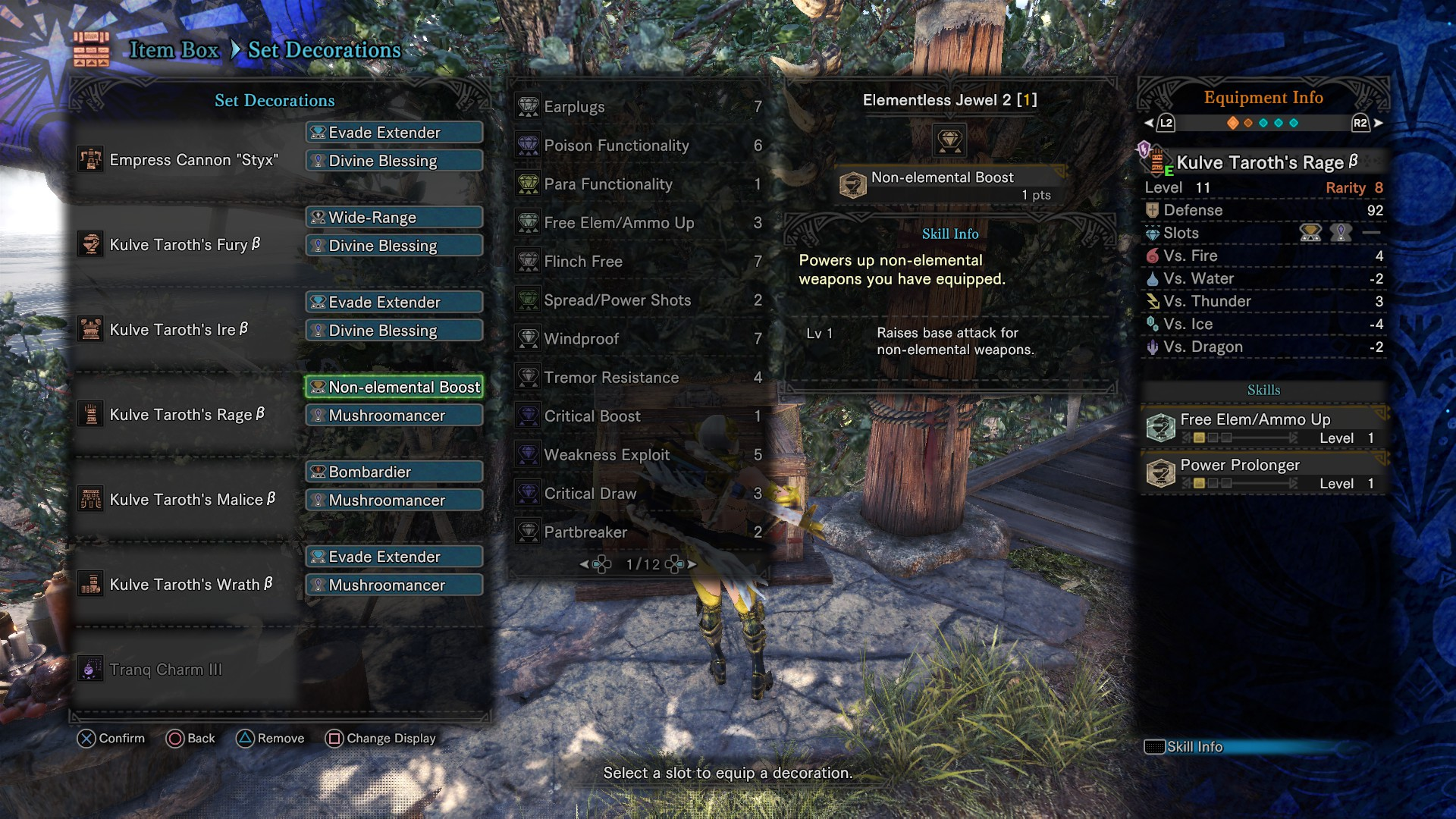 Post your Behemoth builds :: MONSTER HUNTER: WORLD Discusiones generales