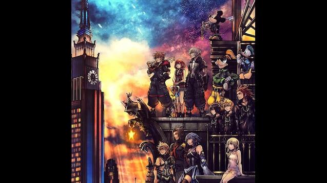 Steam Workshop Kingdom Hearts Wallpaper 3440x1440