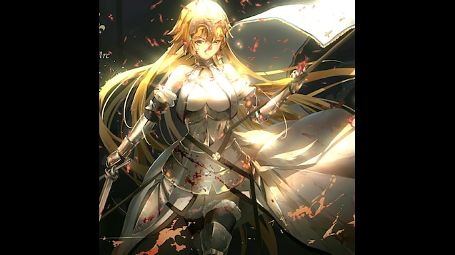 Steam Workshop Fate Apocrypha Jeanne Darc Wallpaper Engine
