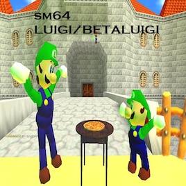 Steam Workshop Luigi Super Mario 64 Hack Beta Luigi