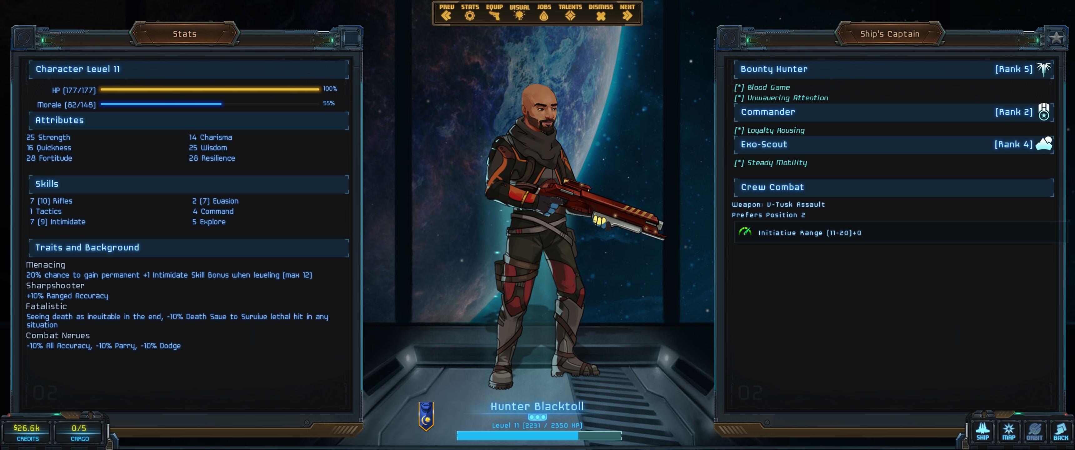 Aug 5, 2018 Update #89: Bleeding Edge Star Traders: Frontiers