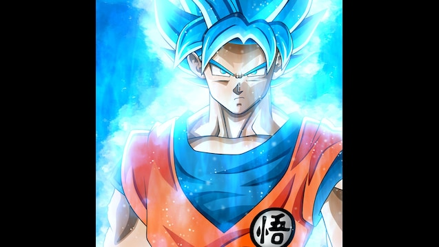 Steam Workshop Goku Super Saiyan God Blue 4k By Zerox