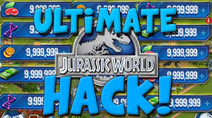 jurassic world the game mod apk unlimited dna