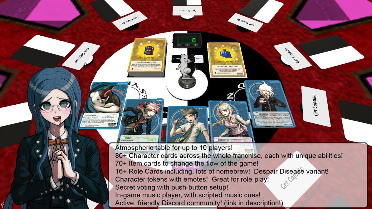 Steam Workshop :: Dangan Werewolf (Card Game + Maniax