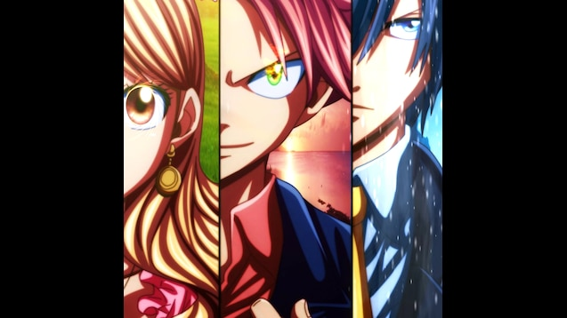 Steam Workshop Fairy Tail Wallpaper Wendy Lucy Natsu Gray